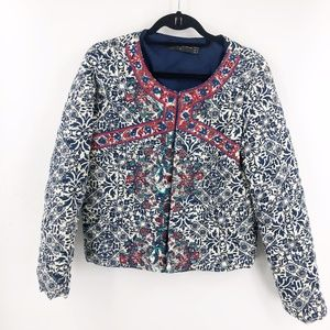 Goodnight Macaroon Quilted/Embroidered Jacket 6